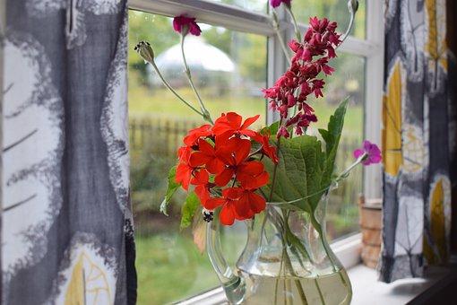 Bouquet, Flowers, Flower, Leaf, Colorful, Nature
