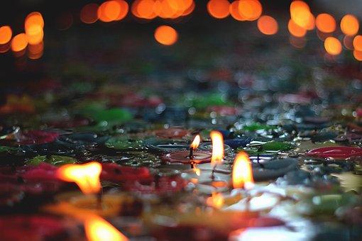 Candles, Bright, Light, Flame, Decoration, Celebration