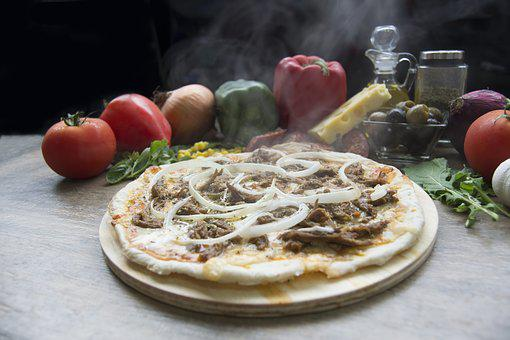 Pizza, Shredded Beef, Pizza Shop, Onion, Food