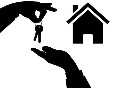 Real Estate Agent, Real Estate, Home, Icon, Keys