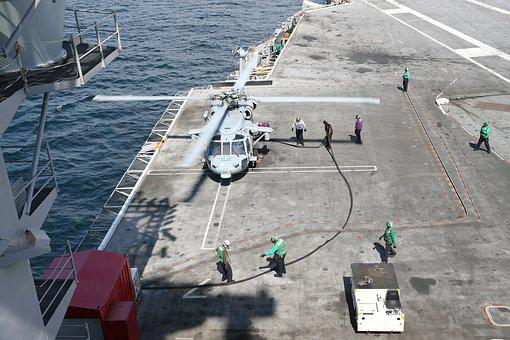 Mh-60s Sea Hawk, Helicopter, Usn, United States Navy
