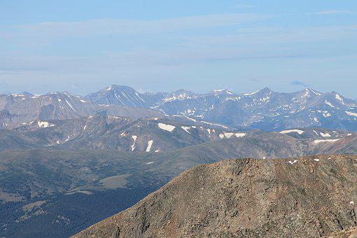 Mount Evans, Colorado, Scenery, Nature, Alpine, Mount