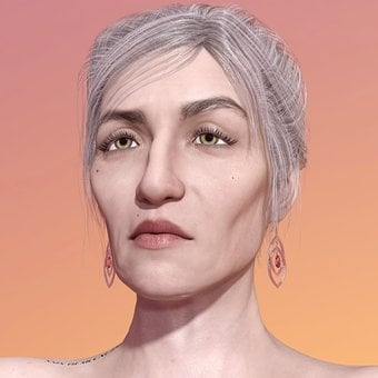 Woman, Older, Face, Old Woman, Age, Human