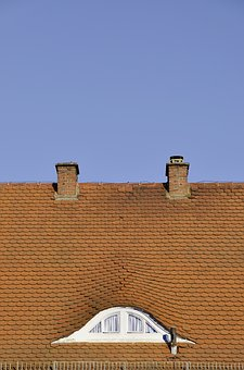 Home, Roof, Sky, Architecture, Red, Tile