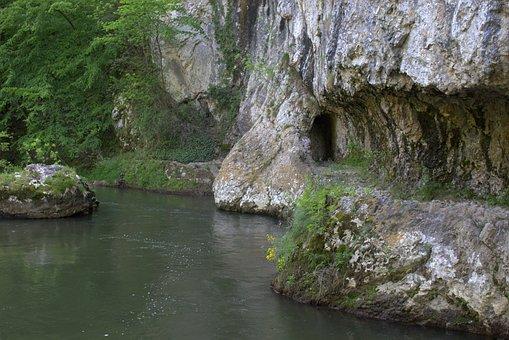 Romania, River, Riverbank, Ancient Road, Road, Path