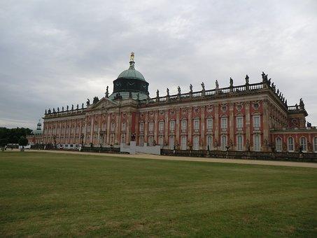 Sanssouci, Rococo, German, Germany, Potsdam