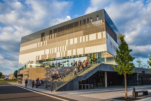 Kleve, College, Architecture, University, Sky