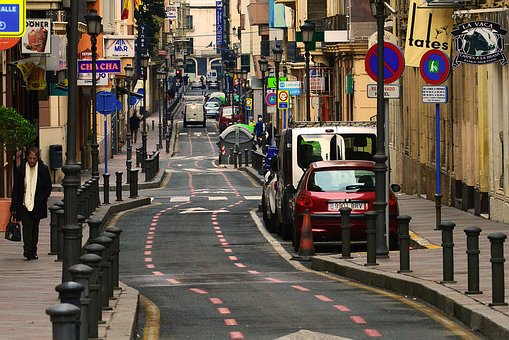 Small, Little, European, Street, Daily, Everyday, Life