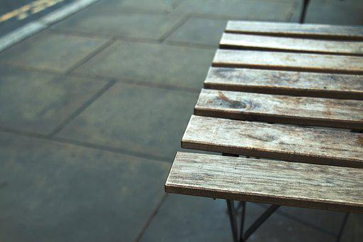 Table, Urban, Wooden, Modern, Design, City, Cafe