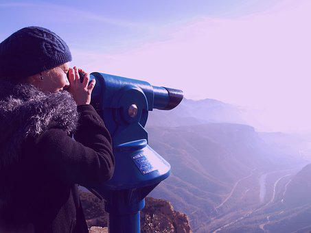 Telescope, Distance, Optical, Look, Lens, Travel, Metal