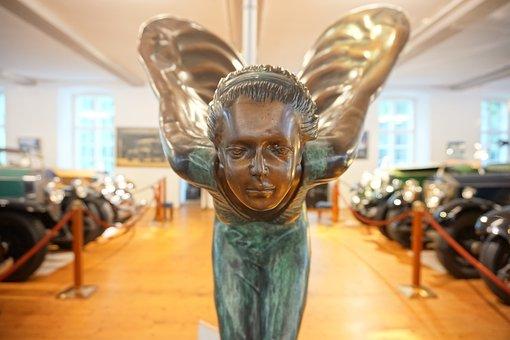 Statue, Angel, Figure, Woman, United Kingdom, England