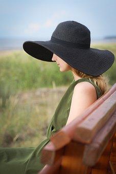 Summer, Woman, Hat, Fashion, Vacation, Lifestyle, Beach