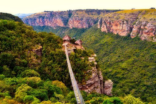 South Africa, Mountains, Ravine, Valley, Gorge