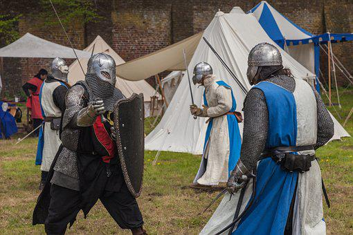 Knight, Sword Fighting, Middle Ages, Fight, Weapons
