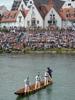 Zill, Ulm, Danube, Town Festival, Fischerstechen