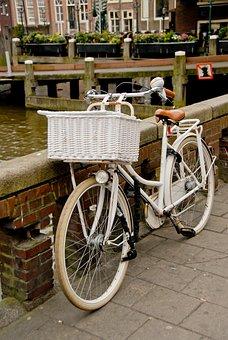 Amsterdam, Bike, Netherlands, Holland, Europe, Dutch