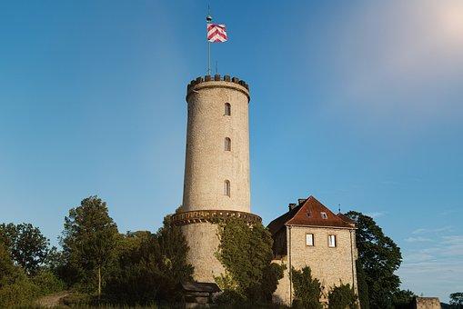 Sparrenburg, Bielefeld, Historically
