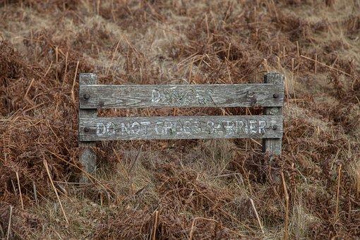 Warning, Board, Border, Attention, Caution, Danger