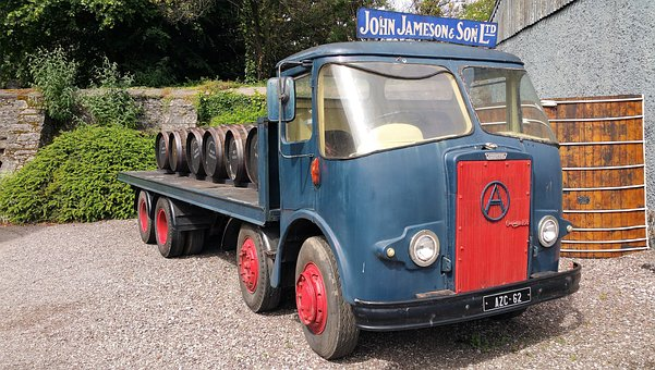 Atkinson's, Classic, Vintage, Truck, Delivery