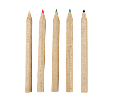 Colored Pencils, Wooden Pencils, Pencils, School, Color