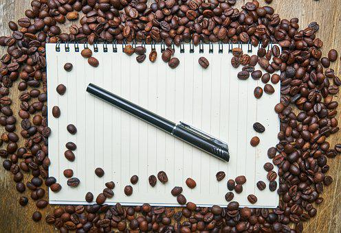 Notebook, Coffee, Course, The Work, Espresso