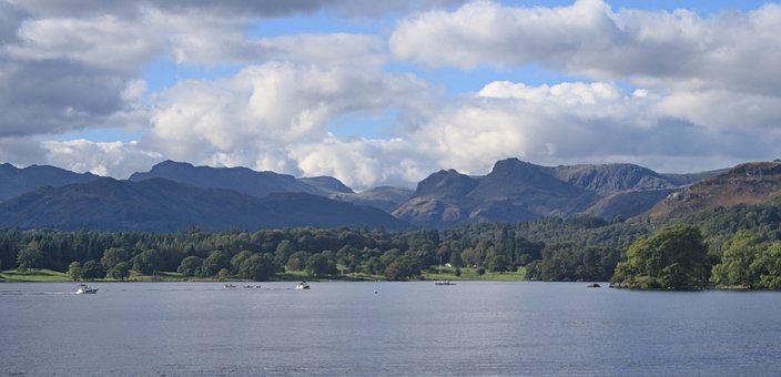 Cumbria, Uk, England, Windermere, Lake District