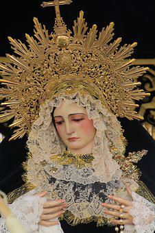 Easter, Our Lady Of Sorrows, Gilena