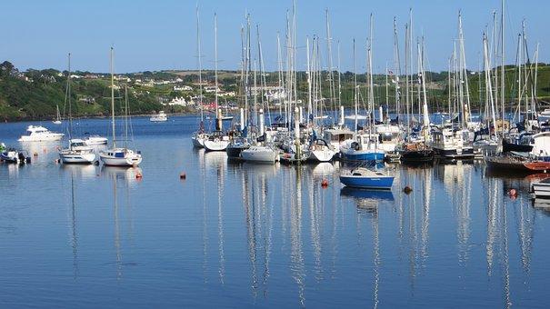 Kinsale, Ireland, Irish, Cork, Sea, Water, Landscape