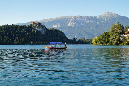 Lake Bled, Bledský Castle, Bled, Slovenia, Castle