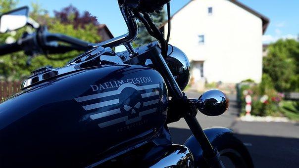 Motorcycle, Chopper, Chrome, Motorcycling, Bike