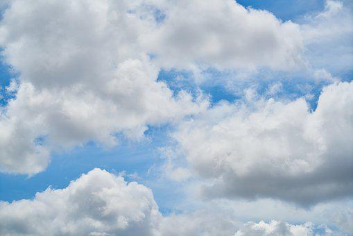 Cloud, Blue, Sky, Clouds, White, White Clouds, Nature
