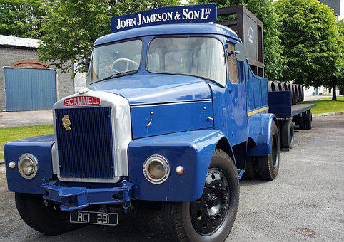 Scammell, Classic, Vintage, Truck, Transport