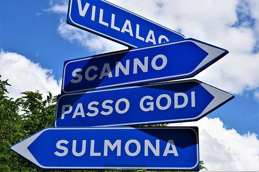 Directory, Signs, Hinweisschilder, Signposts, Direction
