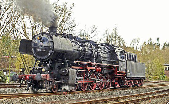 Steam Locomotive, Series 50, Db-outfit, Epoch 3b