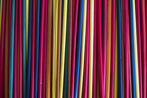 Straw, Tinker, Colorful, Color, Hand Labor, Strohstern