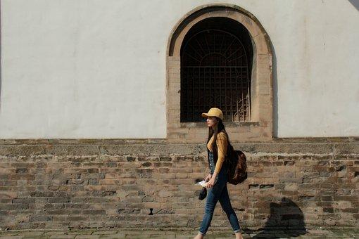 Kumbum Monastery, Girls, Wall, Window