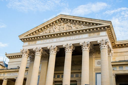 Nimes, Palace Of Justice, Court, Architecture, Roman