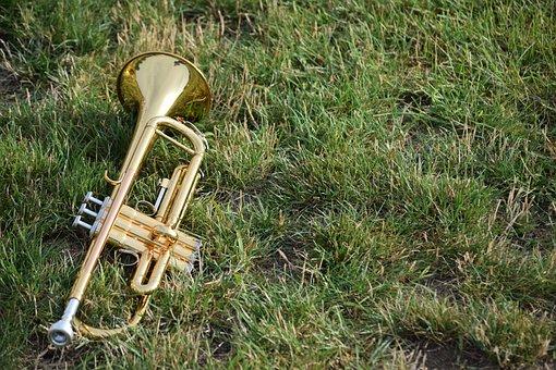 Music, Musical Instruments, Horns, Brass, Band