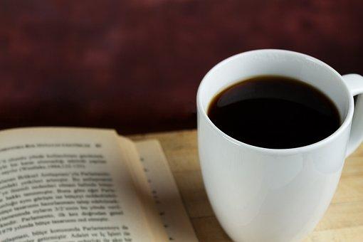 Coffee, Filter Coffee, Drink, Beverage, Break, Read