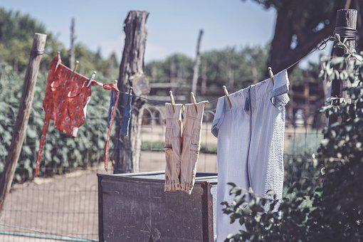 Clothesline, Laundry, Clean, Clothes, Dry, Clothing
