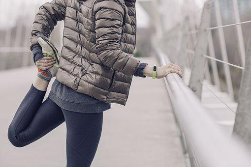 Cold, Weather, Winter, Jacket, Exercise, Stretching