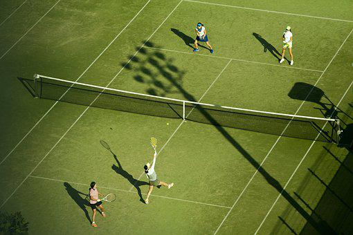 Tennis, Exercise, Doubles Game, Sport, Hobby, Ball