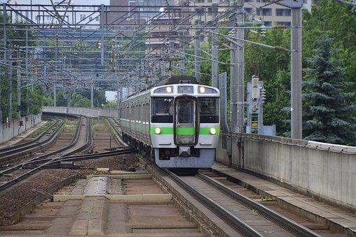 Japan, Train, Railway, Transportation, Transport