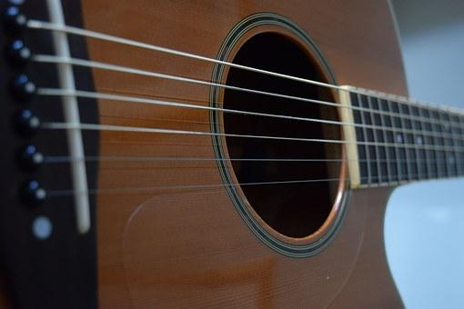 Guitar, Strings, Musical, Instrument, Acoustic