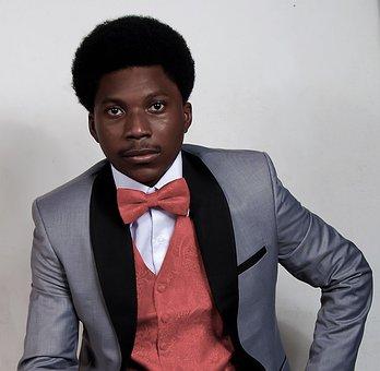 Afro, Jacket, Elegant, Male Model, Fashion, Suit