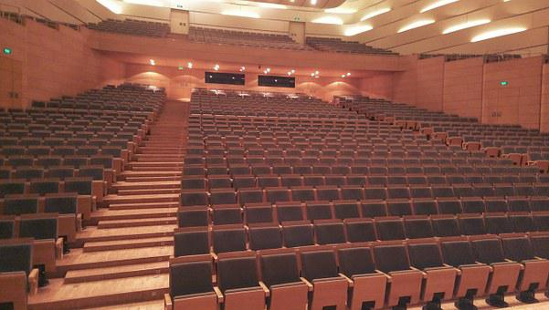 Concert Hall, Concert, Choir, Orchestra, Audience