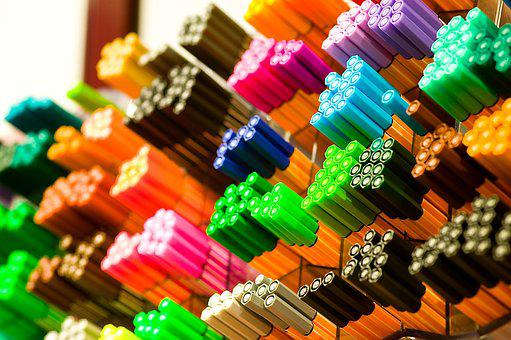 Back To School, Colorful, Pens, Felt Tip Pens, Stabilo