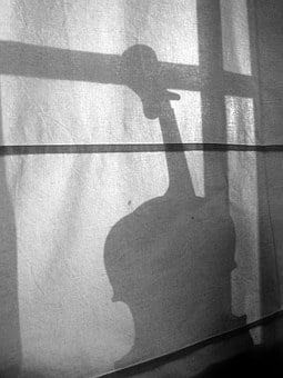 Window, Shadow, Blind, Background, Music, Tool, Violin