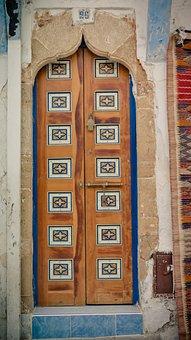 Door, Wooden Door, Bolt, Bow Door, Ornament, Portal