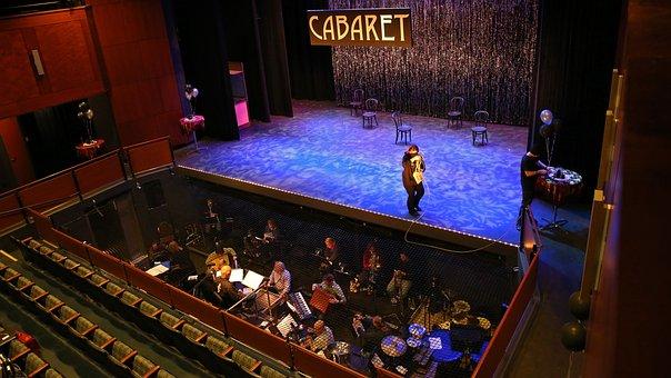 Cabaret, Theatre, Theater, Musical, Music, Orchestra